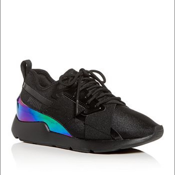 Puma Women's Muse X-2 Iridescent Low-Top Sneakers